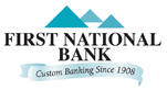 First National Bank's Logo